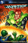 DBZ:AI Android 16 sketch cover