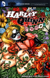 Harley + Ivy Garden sketch cover by gb2k