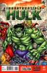 Majin Hulk sketch cover