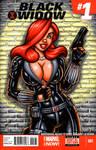 Jessica Rabbit Black Widow sketch cover