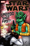 Greedo shot first! sketch cover