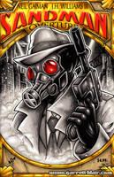 Sandman Noir sketch cover by gb2k