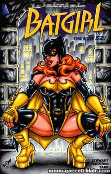 Batgirl redesign sketch cover