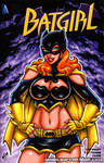 Batgirl sexy redesign sketch cover