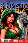 Ivy Doomkitty bust sketch cover