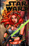 Mara Jade sketch cover