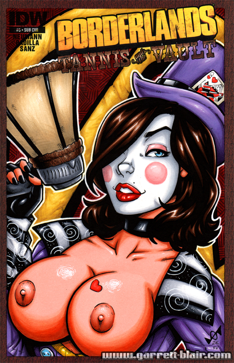 Mad Moxxi naughty bust cover by gb2k