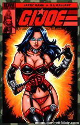 Cobra Dominatrix Baroness sketch cover