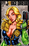 Judge Anderson bust cover