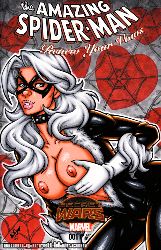 Naughty Black Cat bust cover by gb2k