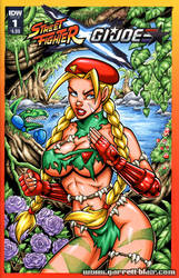 Savage Land Cammy sketch cover by gb2k