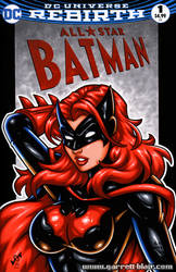 Batwoman bust cover by gb2k