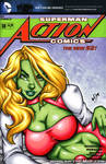 Brainiac's Daughter bust cover