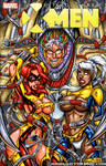 XXX-Tinction Agenda sketch cover