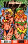 Savage Land Marvels sketch cover