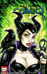 Maleficent bust cover