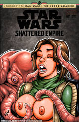 Naughty Jyn Erso + Bor Gullet sketch cover by gb2k