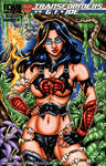 Savage Land Baroness sketch cover by gb2k