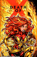 Dark Phoenix sketch cover by gb2k