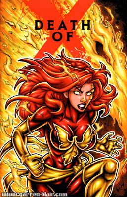 Dark Phoenix sketch cover