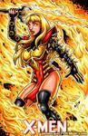 Phoenix Force Magik sketch cover