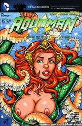 Mera tentacle trouble bust cover by gb2k
