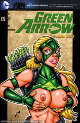 Naughty Artemis YJ bust cover by gb2k