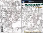 DC Villain Stripclub pencils by gb2k