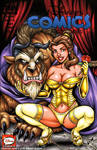 Beauty and the Beast sketch cover