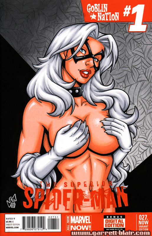 Black Cat tease cover by gb2k