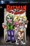 Lil Harley Quinn + Joker sketch cover