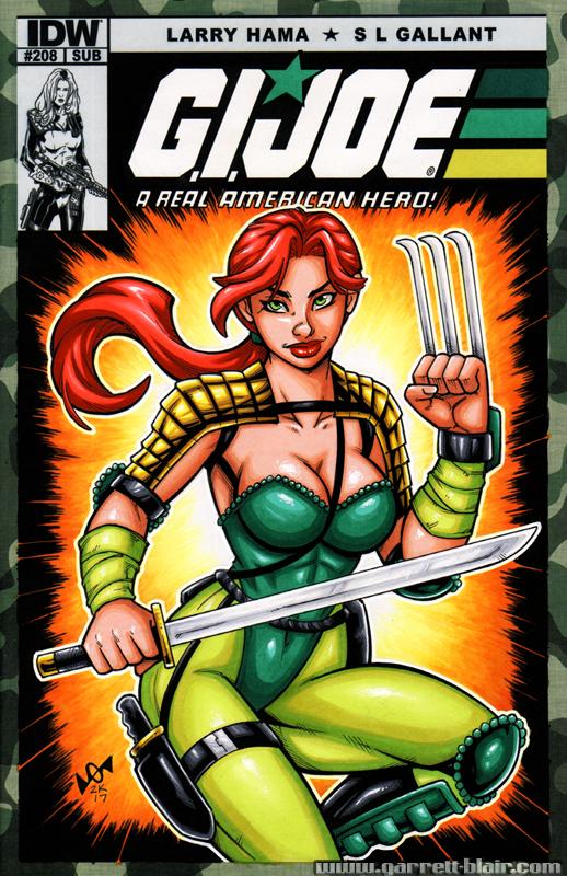 Ninja Force Scarlett cover by gb2k