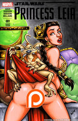Naughty Slave Leia booty cover by gb2k