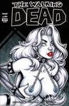 Naughty Lady Death bust cover by gb2k