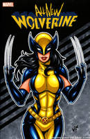 All New Wolverine / X23 sketch cover