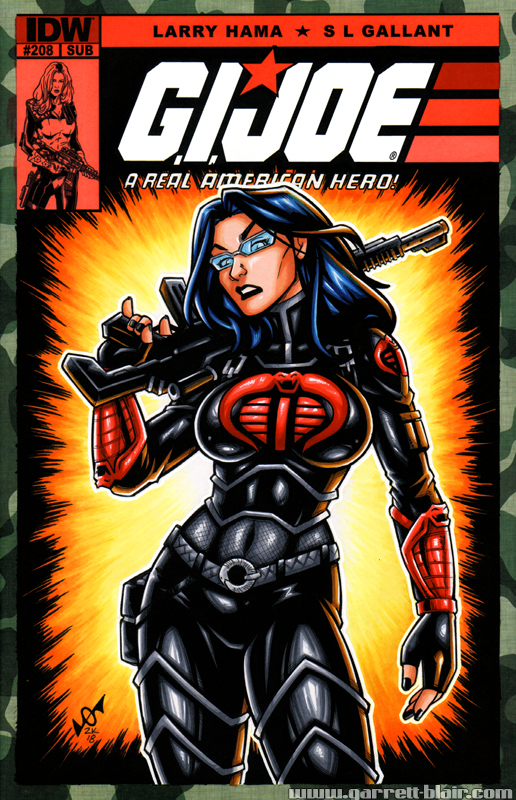 Baroness sketch cover by gb2k