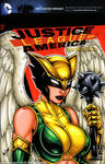 Hawkgirl bust cover