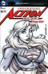 Supergirl Quick Sketch cover