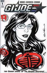 Baroness Quick Sketch cover by gb2k