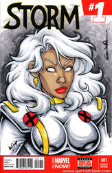 90s Storm Quick Sketch cover by gb2k