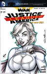 Powergirl Quick Sketch cover