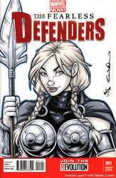 Classic Valkyrie Quick Sketch cover by gb2k