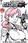 Scarlett bust Quick Sketch cover