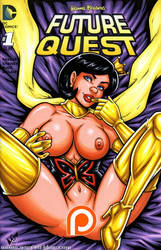Naughty Dr Mrs Monarch cover commission by gb2k