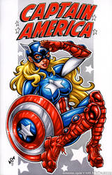 American Dream sketch cover by gb2k