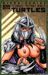 Naughty female Shredder bust cover by gb2k
