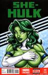 She-Hulk bust tease cover by gb2k
