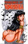 Naughty Vampirella booty tease sketch cover