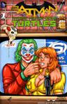 Joker + April O'Neil sketch cover by gb2k