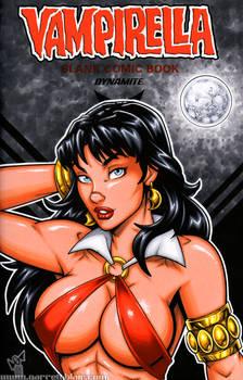 Vampirella bust sketch cover